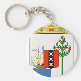 Curacao Coat Of Arms Key Ring