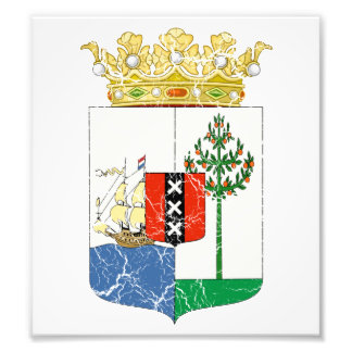Curacao Coat Of Arms Art Photo