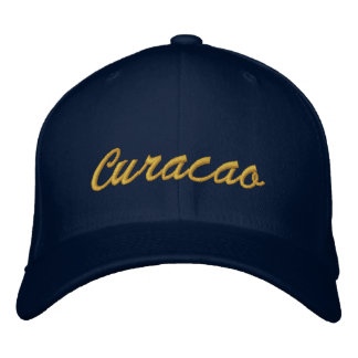 Curacao Embroidered Hat
