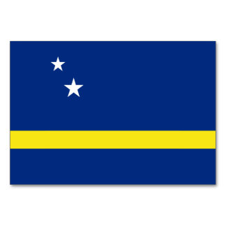 Curacao Flag Card