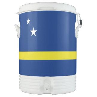 Curacao Flag Drinks Cooler