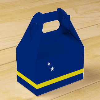 Curacao Flag Favour Box