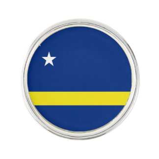 Curacao Flag Lapel Pin