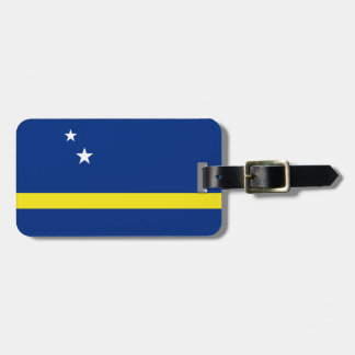 Curacao Flag Luggage Tag