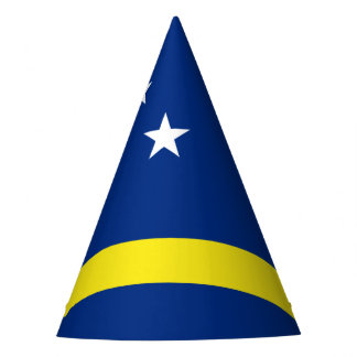 Curacao Flag Party Hat