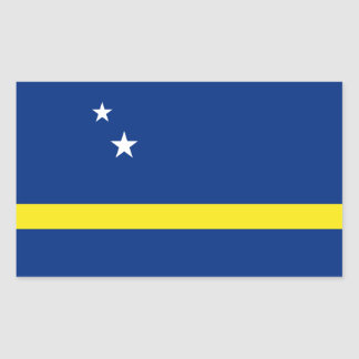 Curacao Flag Rectangular Sticker