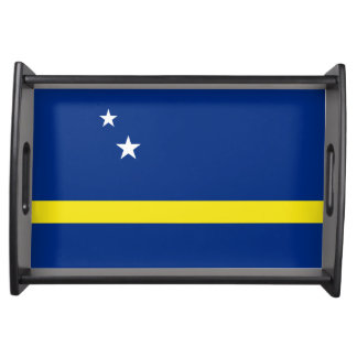 Curacao Flag Serving Tray
