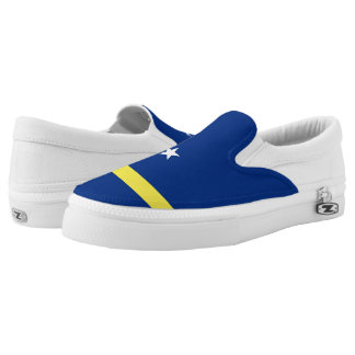 Curacao Flag Slip-On Shoes