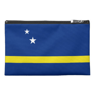 Curacao Flag Travel Accessory Bag
