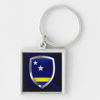Curaçao Mettalic Emblem Key Ring