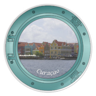 Curacao Porthole Party Plates