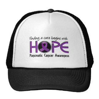Cure Begins With Hope 5 Pancreatic Cancer Cap