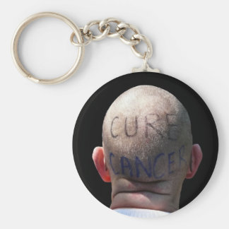 Cure Cancer Key Ring
