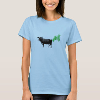 Cure Cow Farts, Cure Global Warming T-Shirt