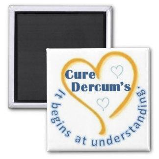 "Cure Dercum's 2"" Magnet"