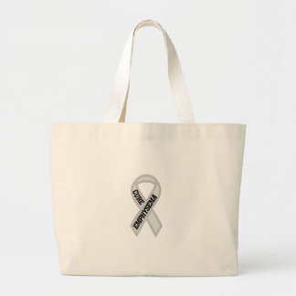 Cure Emphysema Jumbo Tote Bag