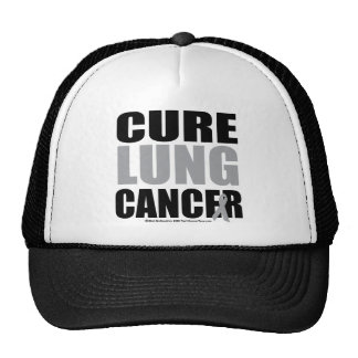Cure Lung Cancer Cap