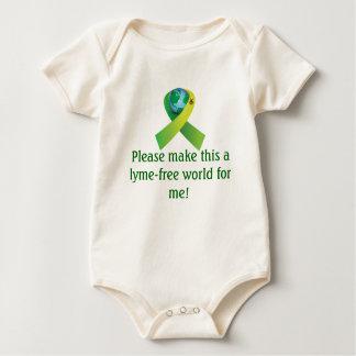 Cure Lyme Baby Bodysuit