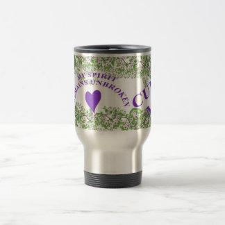 CURE MS  & UNBROKEN SPIRIT Travel Cup