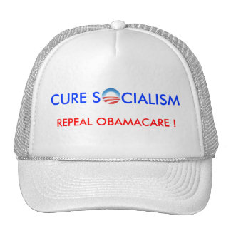 CURE S CIALISM R MESH HATS