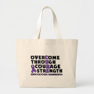 CURE...Sarcoidosis Large Tote Bag