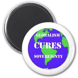 CuresSovereignty 6 Cm Round Magnet