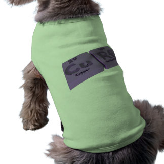 Curf as Cu Copper and Rf Rutherfordium Doggie Tee