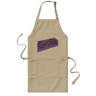 Curf as Cu Copper and Rf Rutherfordium Long Apron
