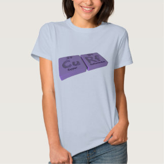 Curf as Cu Copper and Rf Rutherfordium Tees
