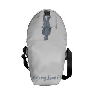 Curing ashes do not know with blue tea ever print messenger bags