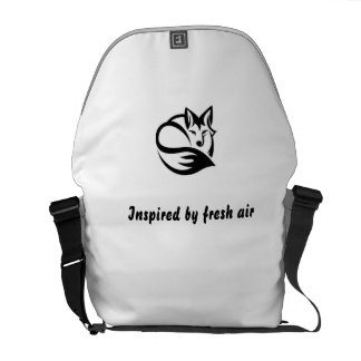 Curing ashes - inspired by fresh air messenger bag