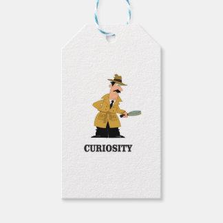 curiosity man gift tags
