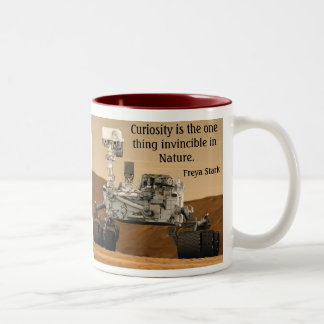 Curiosity Mars Rover NASA Mug