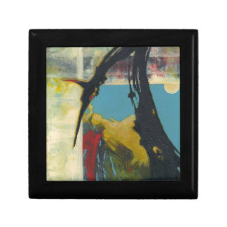 Curiosity the abstract dragon small square gift box