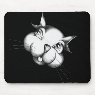Curious as a cat mouse pad