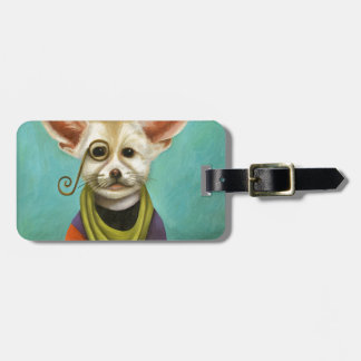 Curious As A Fox Luggage Tag