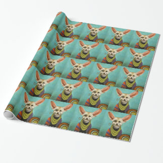 Curious As A Fox Wrapping Paper