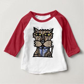 """""""Curious"""" Baby 3/4 Raglan T-Shirt"""