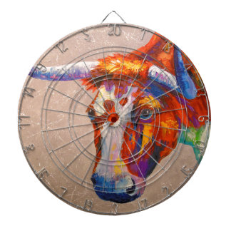 Curious bull dartboard