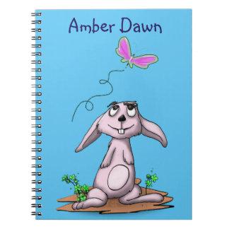 Curious Bunny Notebook