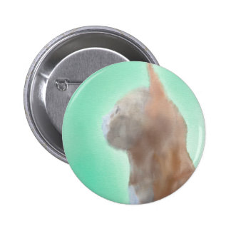 Curious Cat Button