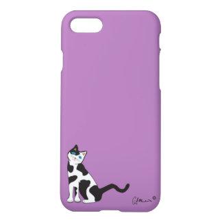"""""""Curious Cat"""" iPhone 7 Case"""