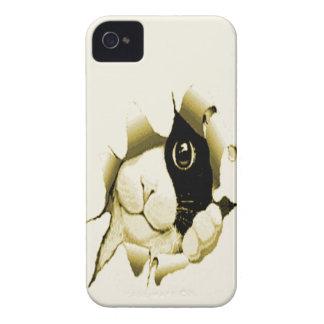 Curious Cat Peeking Out iPhone 4 Case-Mate Case