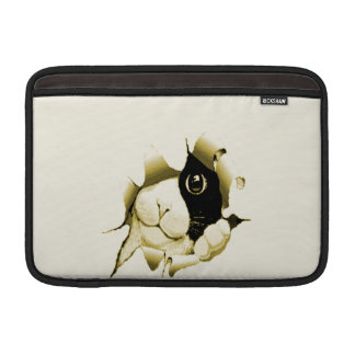 Curious Cat Peeking Out Sleeve For MacBook Air