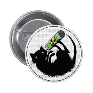 Curious Cat with Uranium Pins