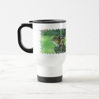 Curious Chipmunk  Plastic Travel Mug