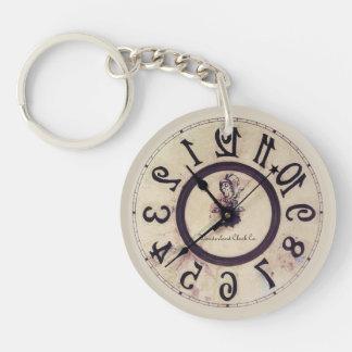 Curious Clock Key Ring