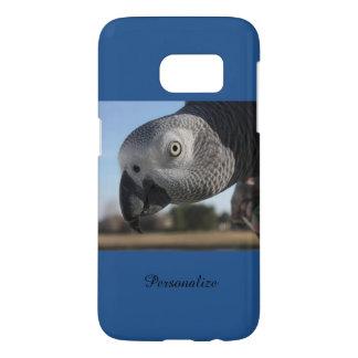 Curious Congo African Grey Parrot