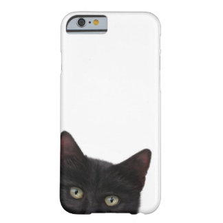 Curious Kitty Digital Painting Barely There iPhone 6 Case