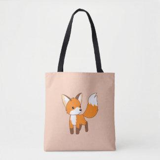 Curious Little Fox Tote Bag